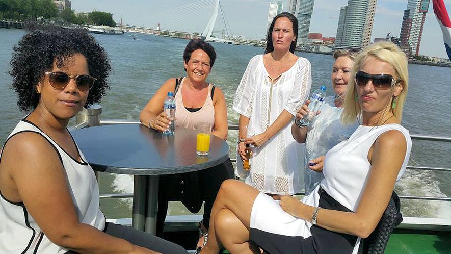 Een dag Rotterdam, Spido en Euromast